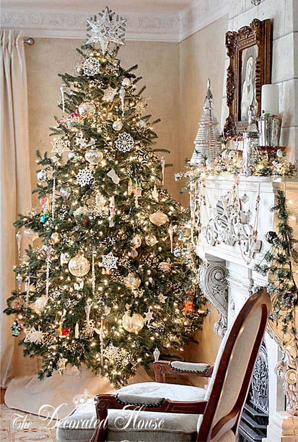 Christmas Tree Decoration Ideas-05-1 Kindesign