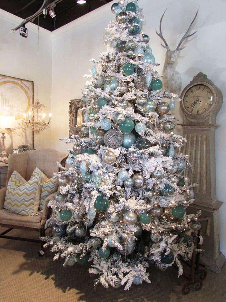 Christmas Tree Decoration Ideas-08-1 Kindesign