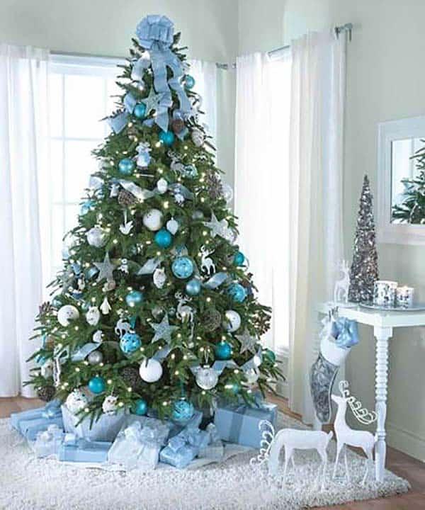 Christmas Tree Decoration Ideas-11-1 Kindesign