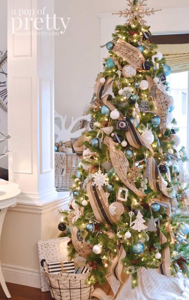 Christmas Tree Decoration Ideas-26-1 Kindesign