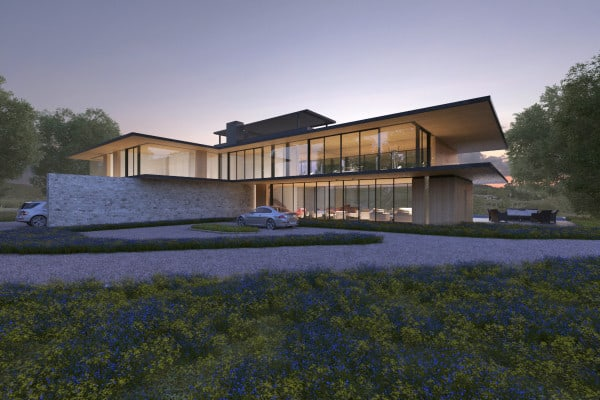 featured posts image for Contemporary Napa Valley home with breathtaking views