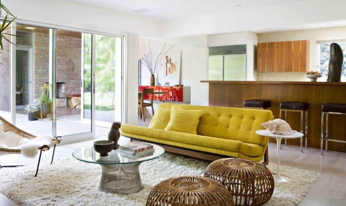 Mid-Century Modern Home-Jamie Bush-02-1 Kindesign