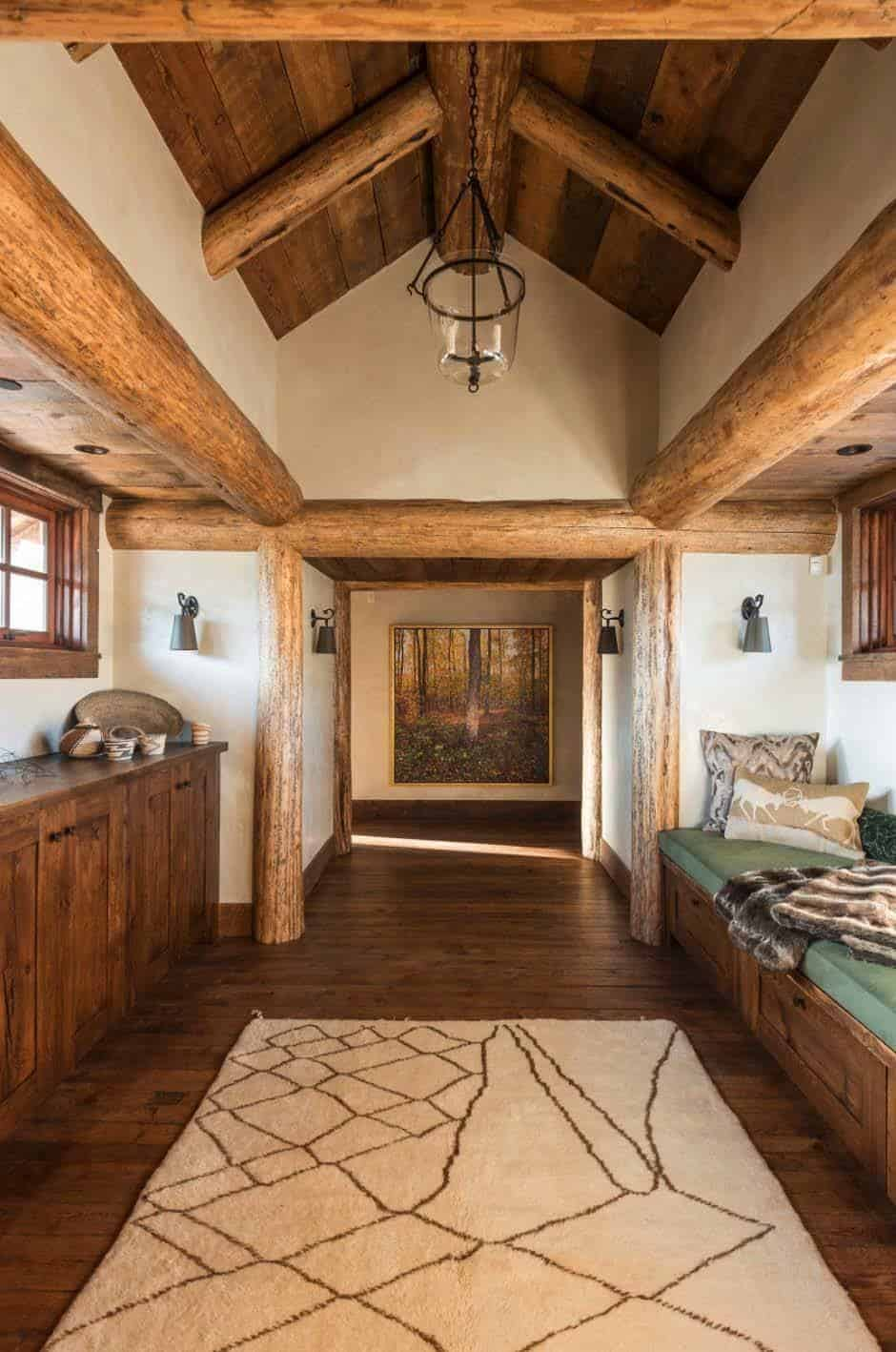 Rustic montana mountain retreat offers a haven of relaxation for Rustic retreat
