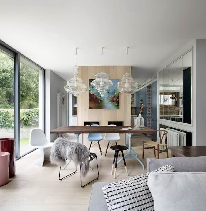Beautifully remodeled family home in Dublin evokes moody blues