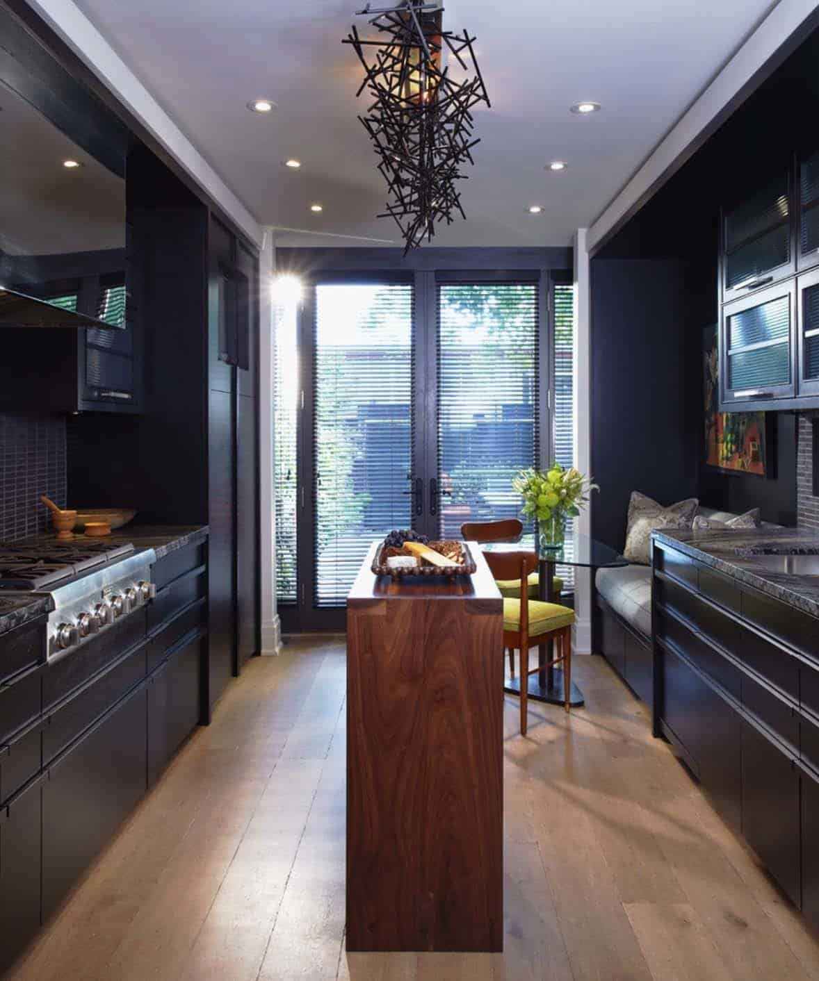 Dramatic Black Kitchen Ideas-11-1 Kindesign