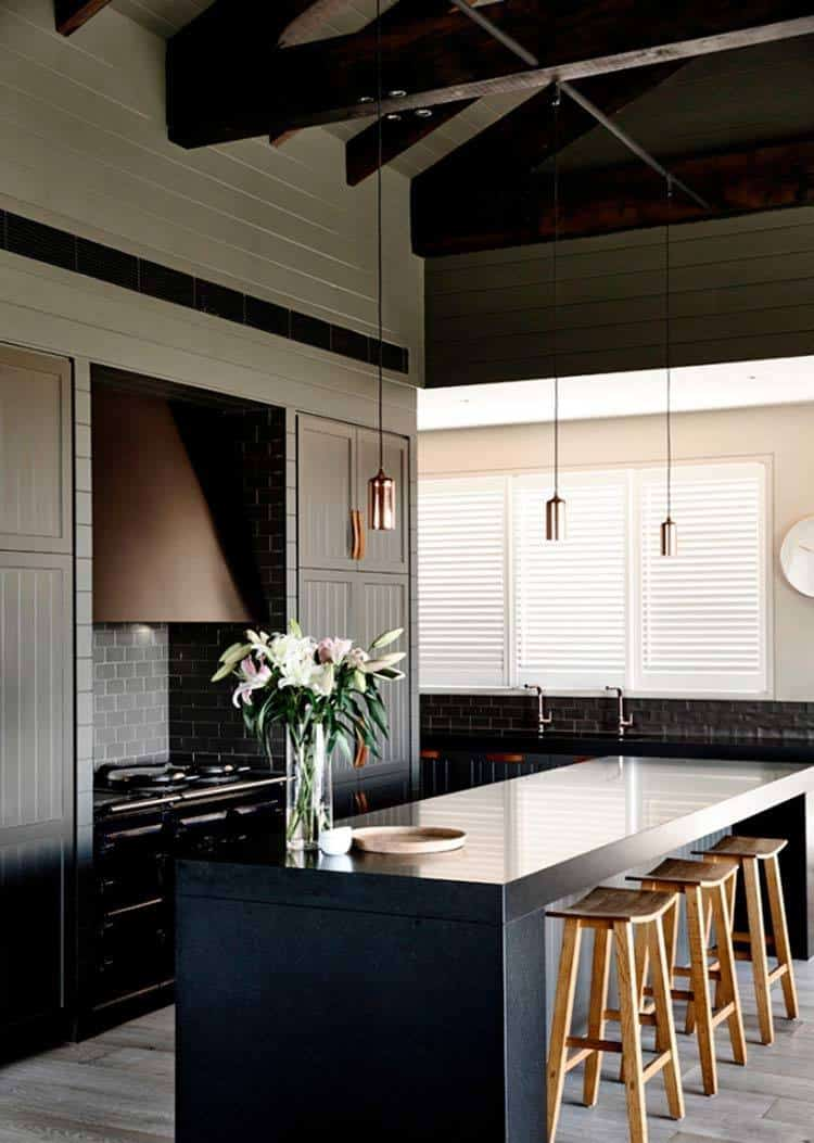 Dramatic Black Kitchen Ideas-28-1 Kindesign