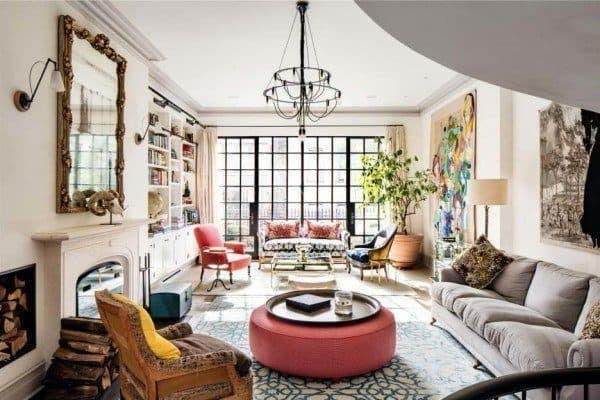 featured posts image for Luxurious New York City townhouse with astounding design details