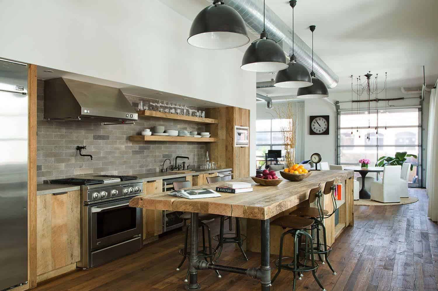 Delectable industrial loft space in Santa Monica, California