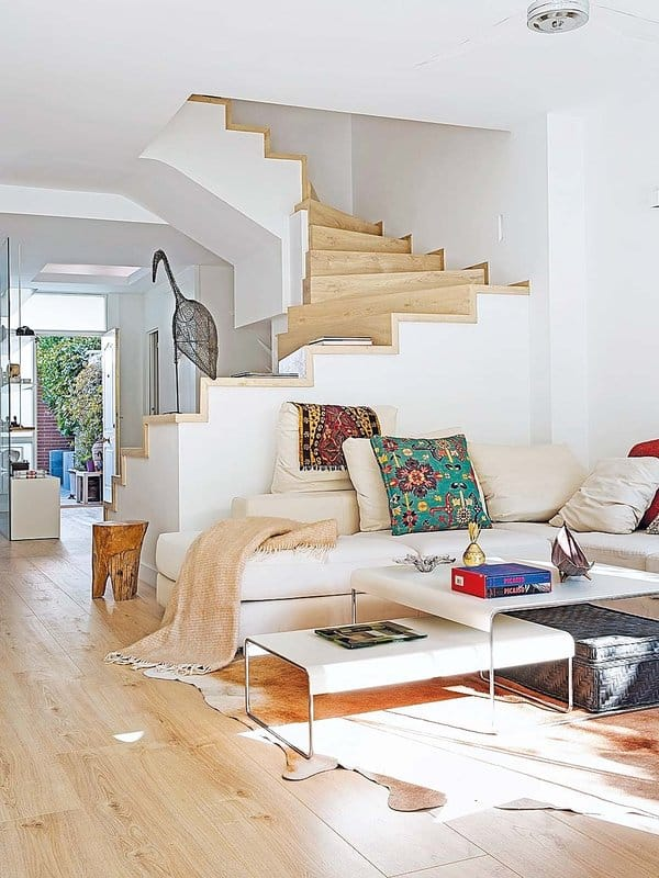 Luminous and airy family home renovation in Madrid