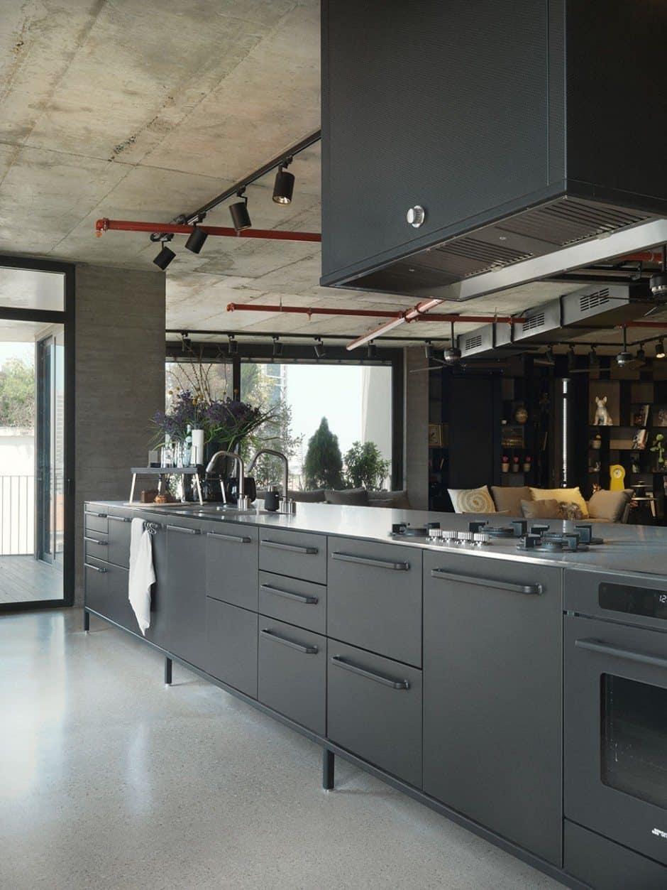 Tel Aviv Apartment-Bar Orion Architects-03-1 Kindesign