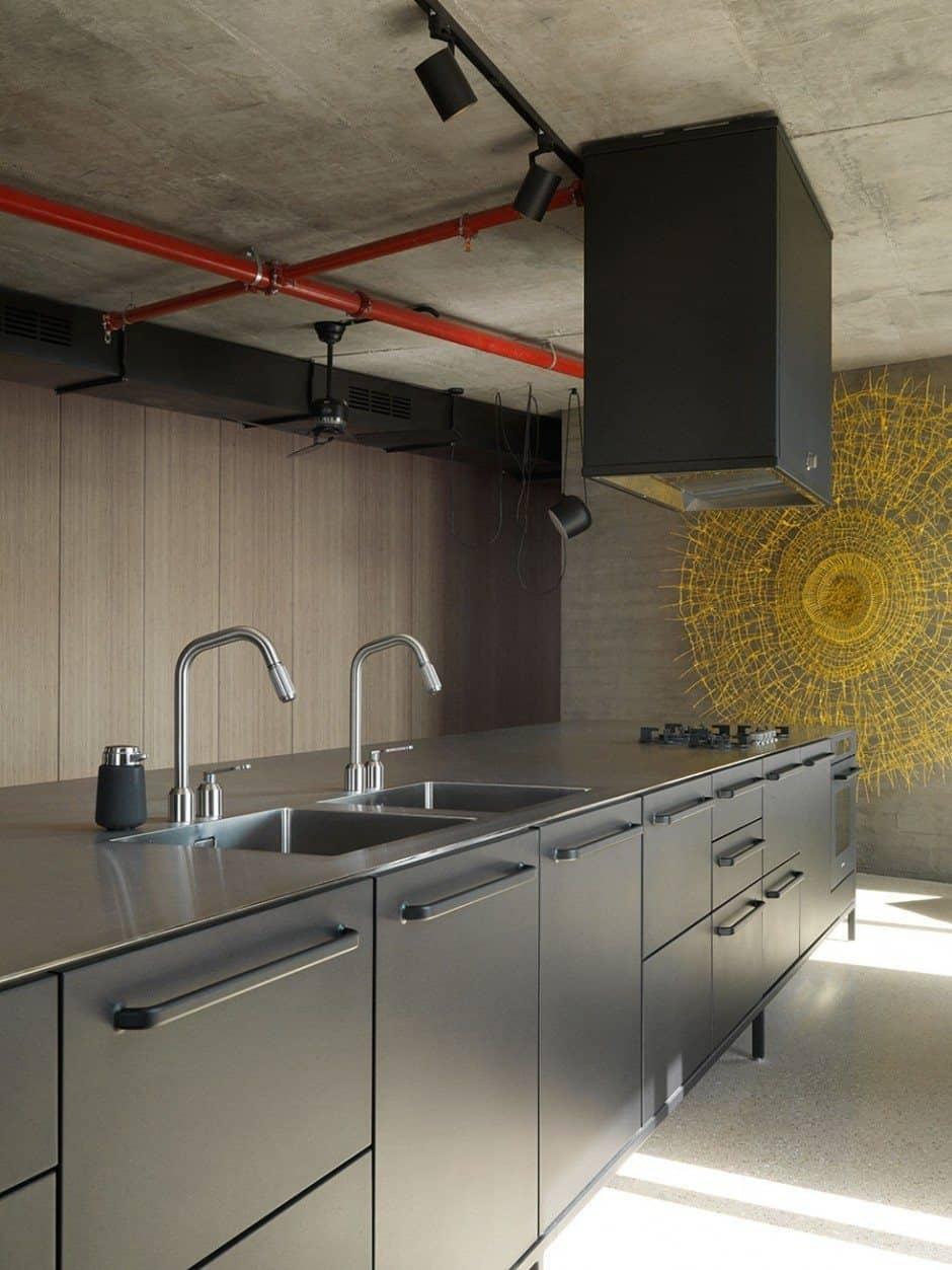 Tel Aviv Apartment-Bar Orion Architects-04-1 Kindesign
