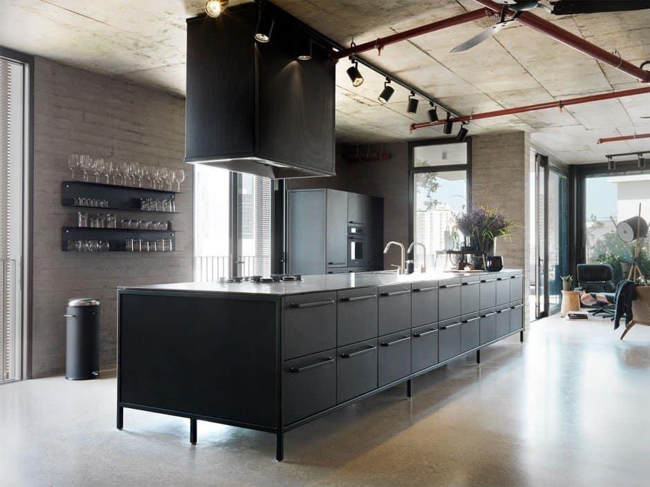 Tel Aviv Apartment-Bar Orion Architects-05-1 Kindesign