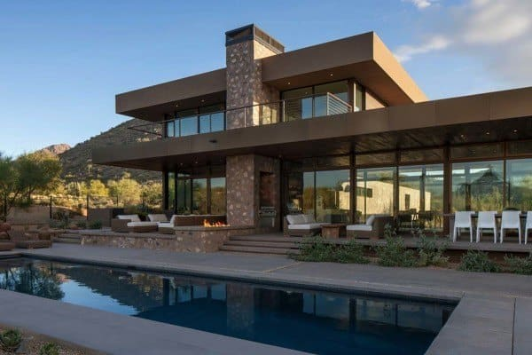 featured posts image for Striking modern residence piercing the deserts of Arizona