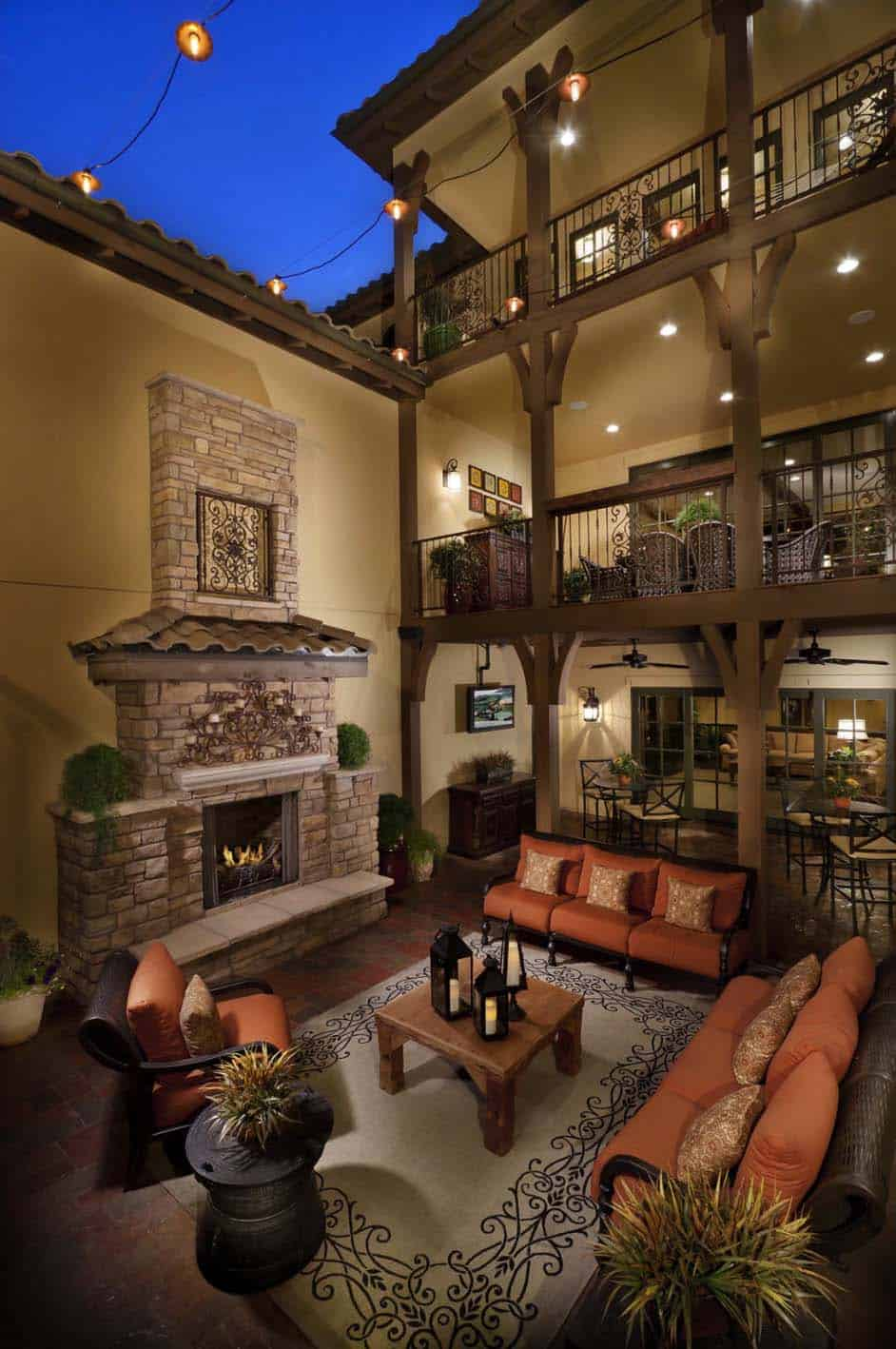 Exquisite mediterranean style luxury homes in Colorado