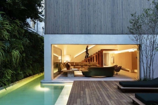 featured posts image for Modern Brazilian home embraces transparency and nature