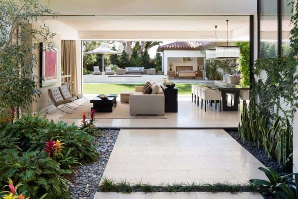featured posts image for Contemporary home with inviting Spanish influences in California