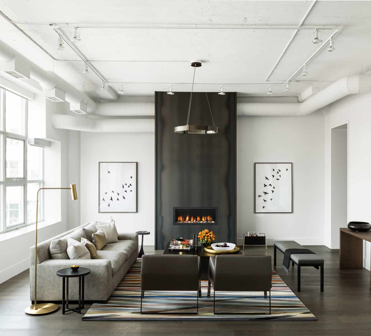 Toronto merchandise warehouse converted to modern industrial loft