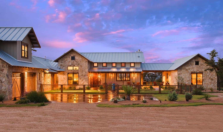 Ranch House-Barn-Burleson Design Group-01-1 Kindesign