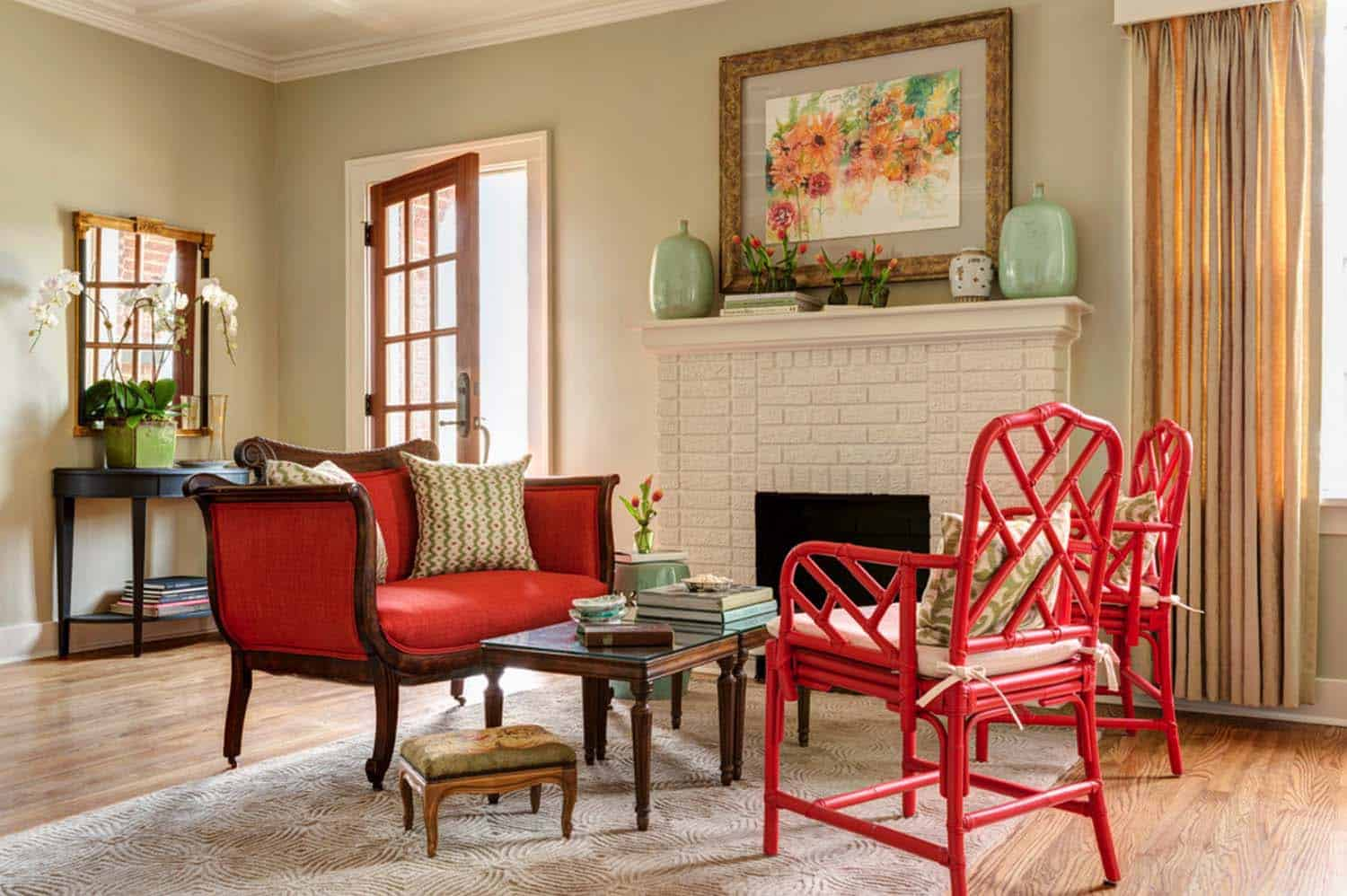 Charming Little Rock residence gets a refreshing eclectic style makeover