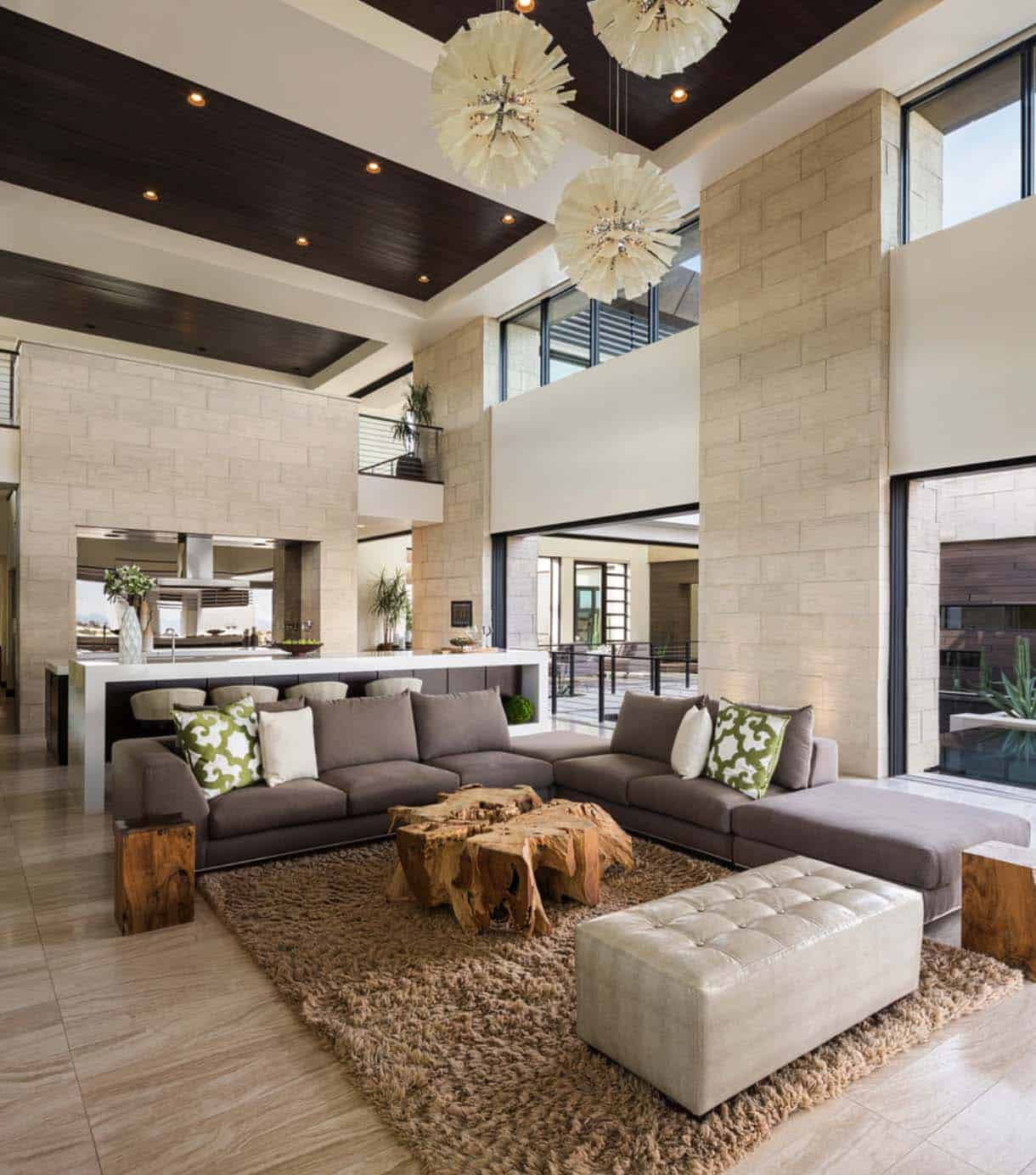 Phenomenal desert contemporary showcase home in Nevada