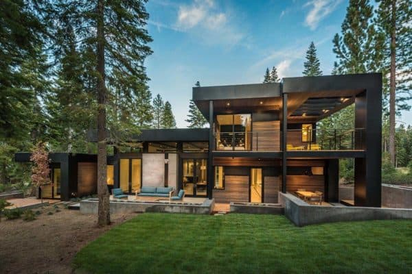 featured posts image for Spectacular mountain modern family home in Martis Camp