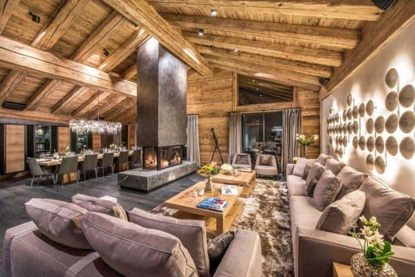featured posts image for Luxurious chalet in the Swiss Alps offers ski resort winter escape
