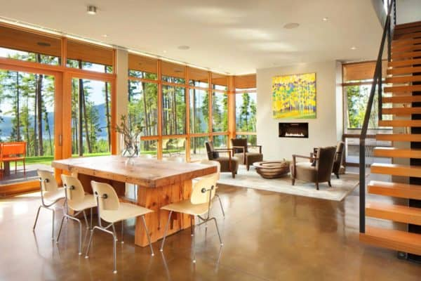 featured posts image for Compact mountain home in Montana boasts sustainable features
