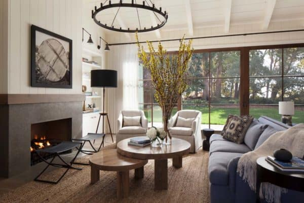 featured posts image for Rustic-chic farmhouse style dwelling in Northern California