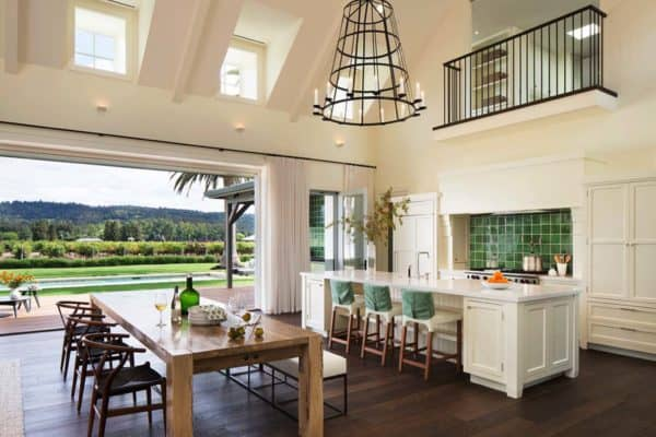 featured posts image for Fresh and modern wine country home with indoor-outdoor living