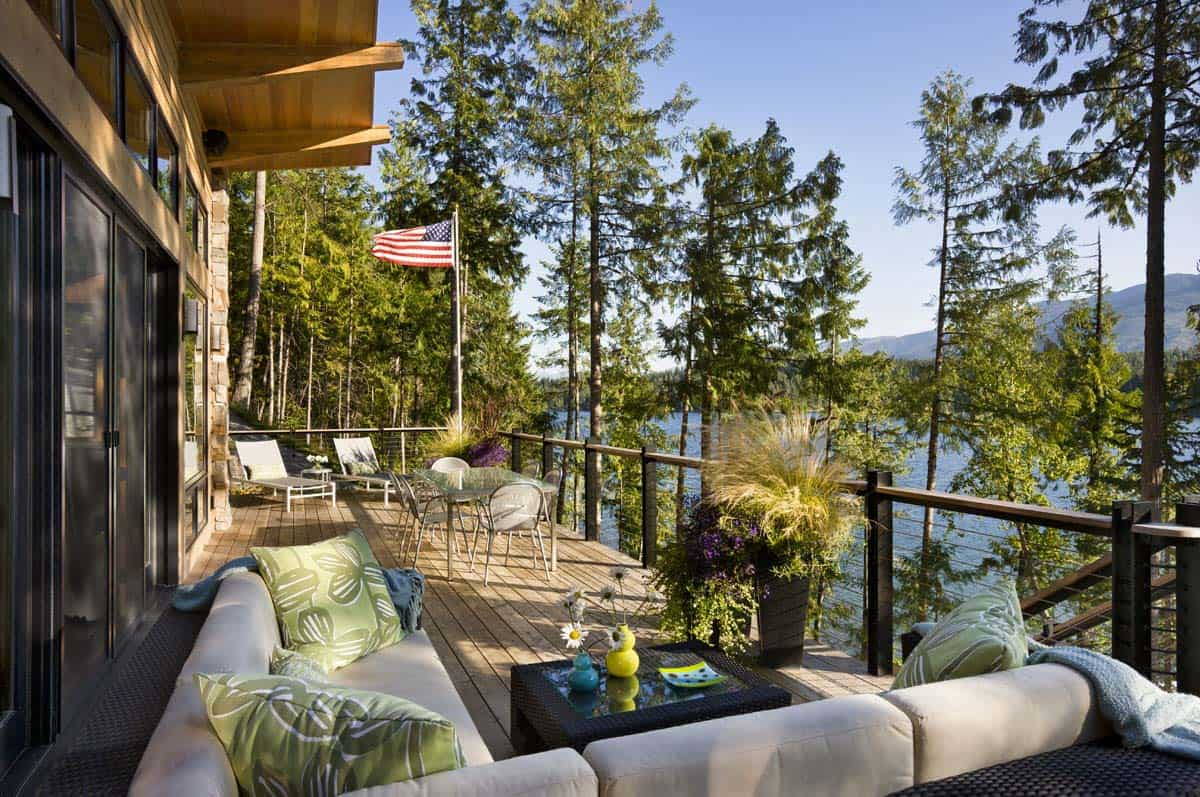 Rustic Lake House-Reid Smith Architects-03-1 Kindesign