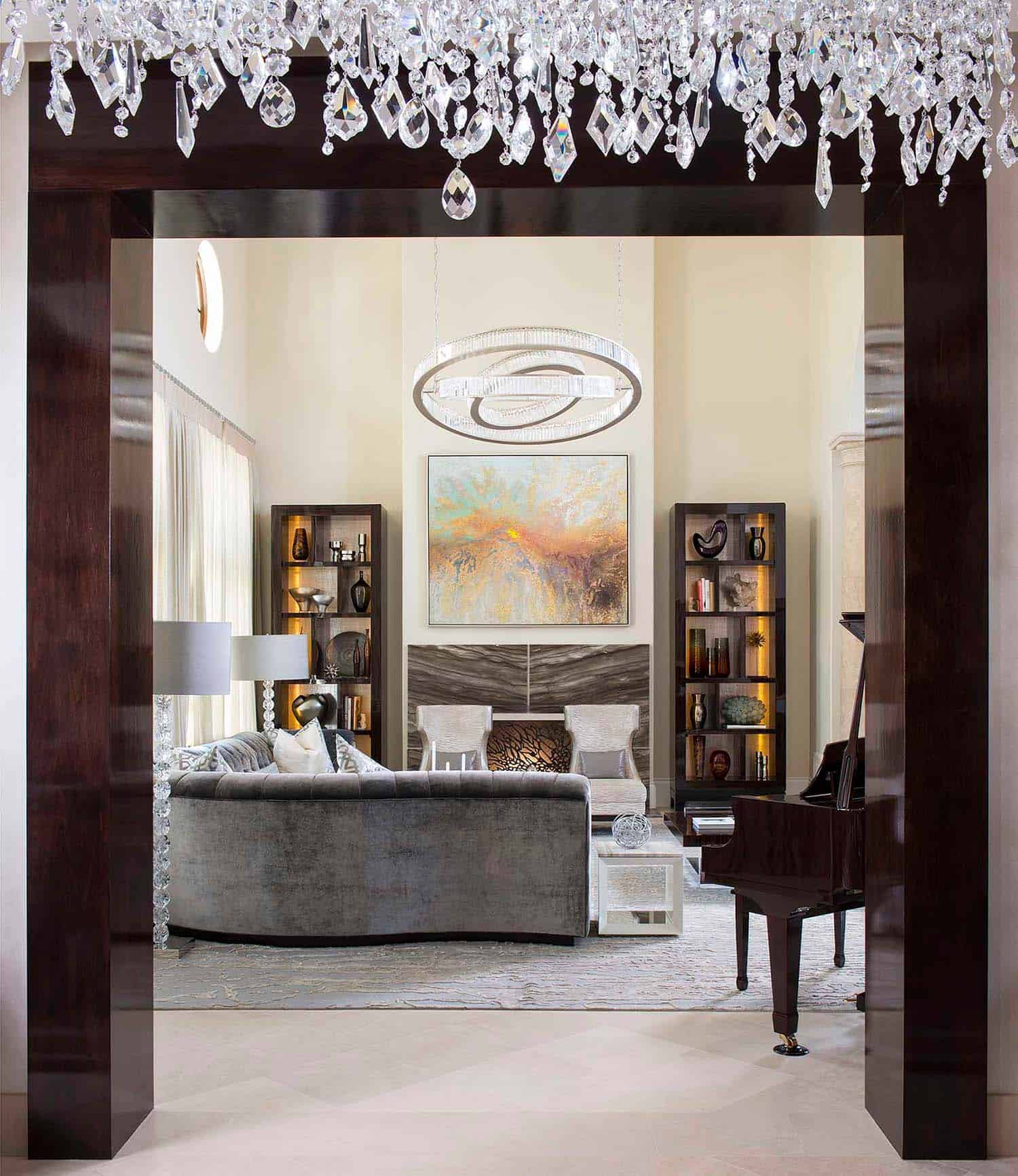 Contemporary Style Home-Dallas Design Group-06-1 Kindesign