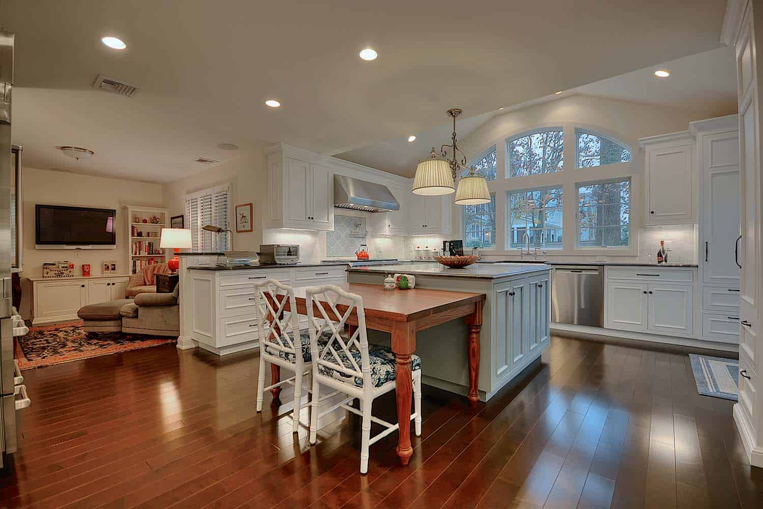 Kitchen remodel and home addition by Gerety Building and Restoration