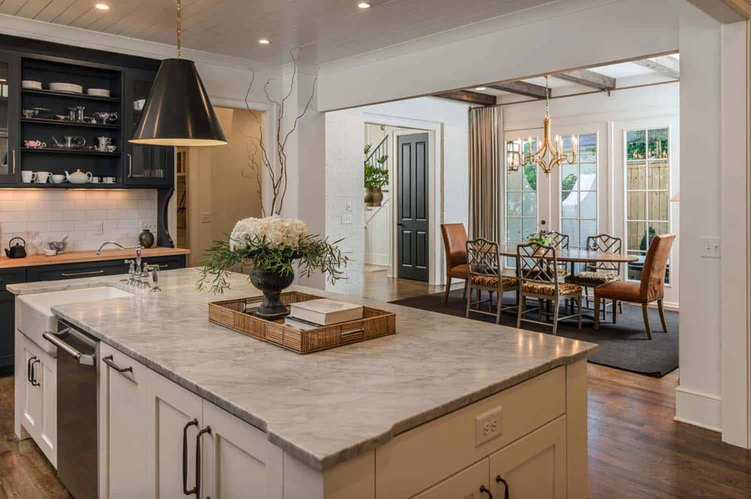 Cape dutch style home in tennessee opens to stylish interiors for Dutch style homes