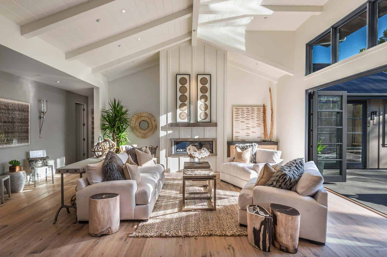 Breathtaking modern farmhouse style retreat in napa valley - Home remodel designer inspired ...
