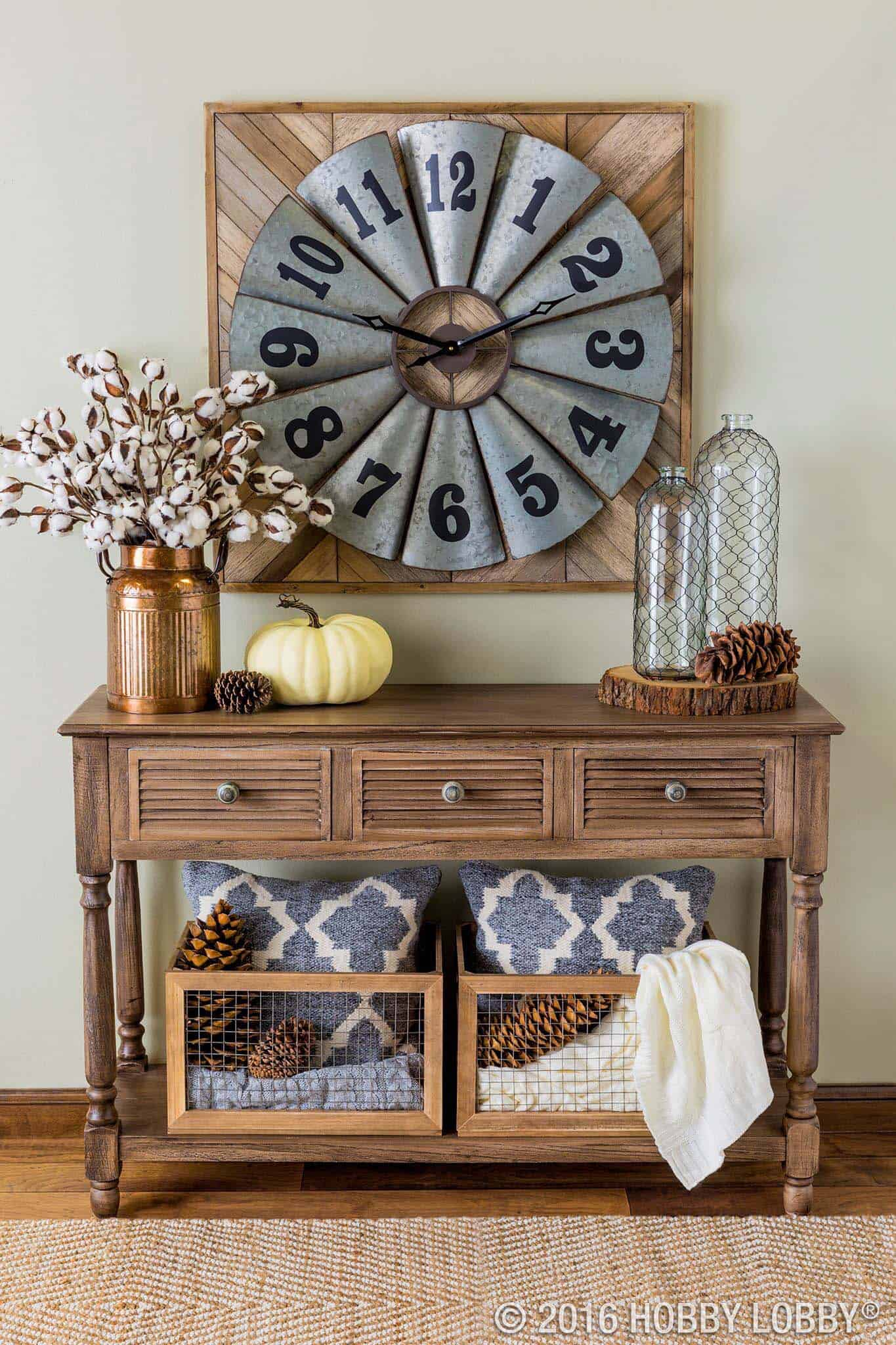 Fall-Inspired Entryway Decorating Ideas-26-1 Kindesign