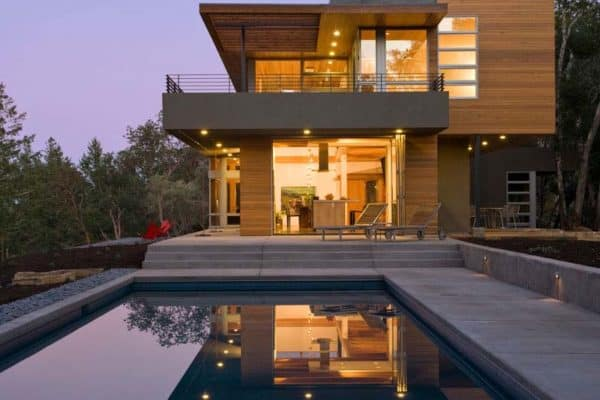 featured posts image for Impressive modern vacation retreat set in Sonoma wine country