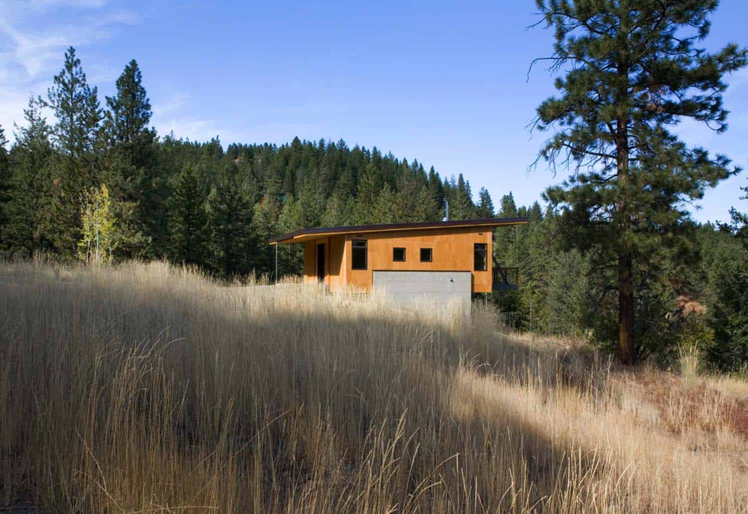 Natural Modern Forest Cabin-Prentiss Balance Wickline Architects-02-1 Kindesign