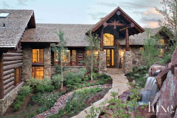 featured posts image for Rustic mountain retreat in Vail showcases fabulous design details