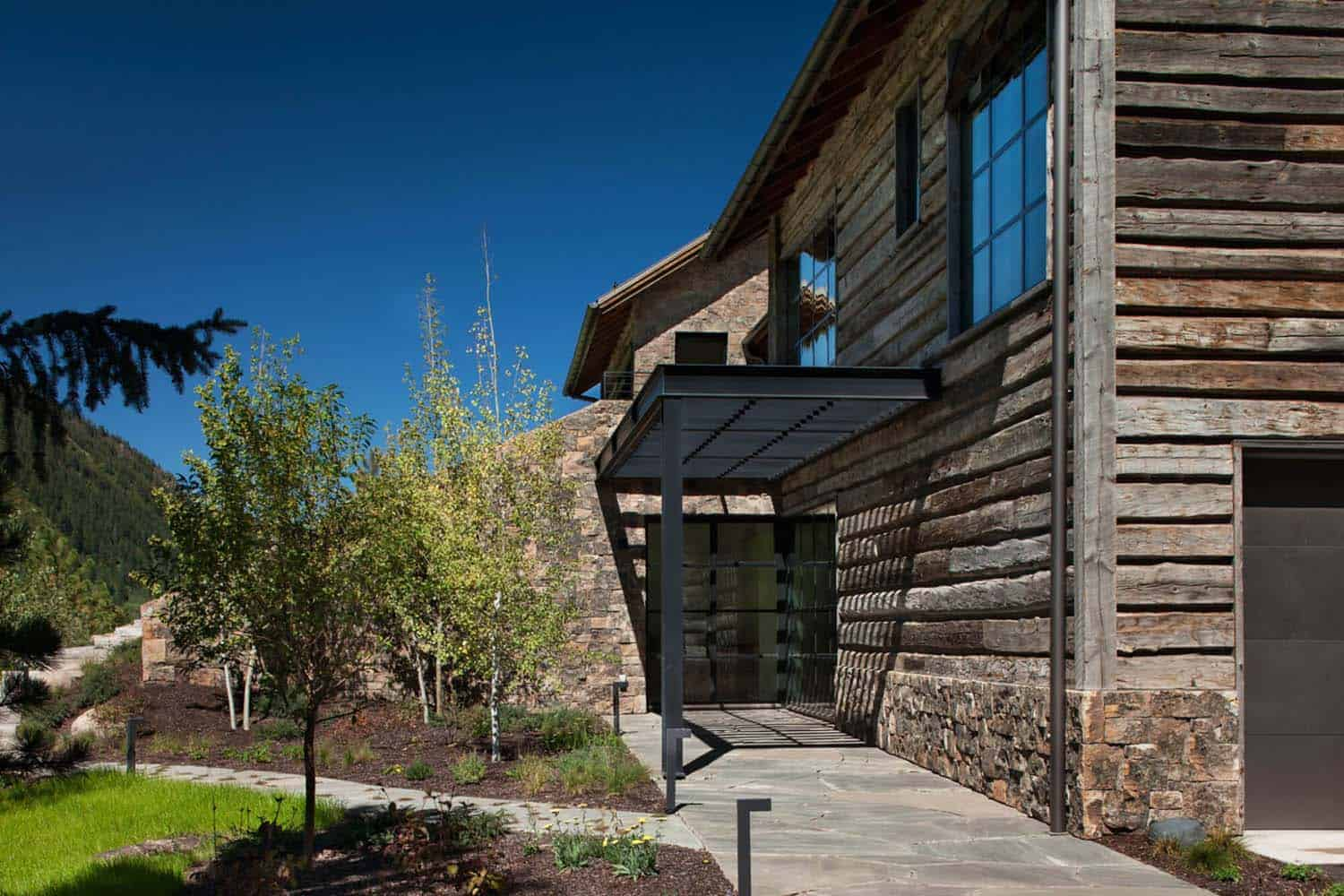 Modern Mountain Home-Miller-Roodell Architects-02-1 Kindesign