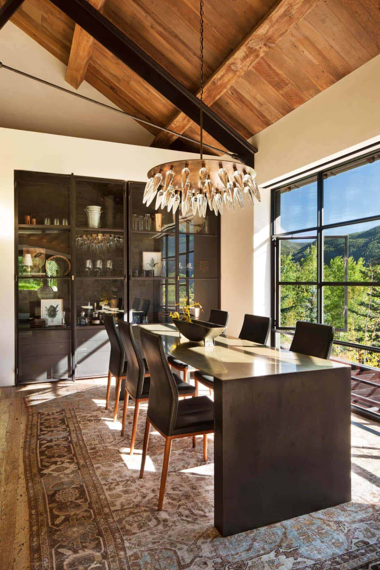 Modern Mountain Home-Miller-Roodell Architects-07-1 Kindesign