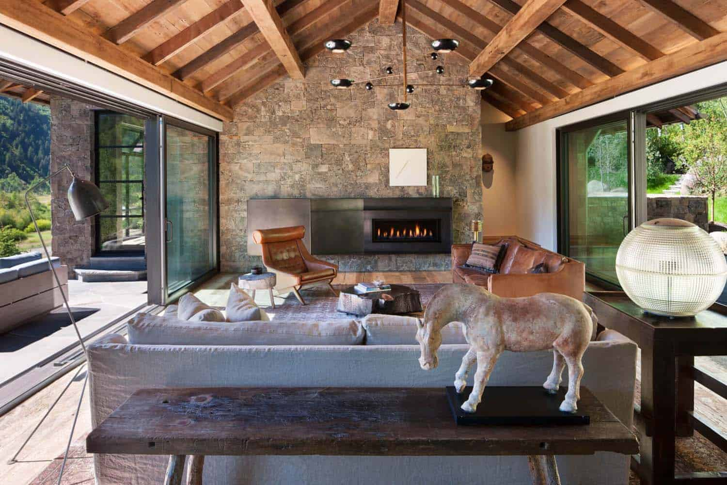 Modern Mountain Home-Miller-Roodell Architects-08-1 Kindesign