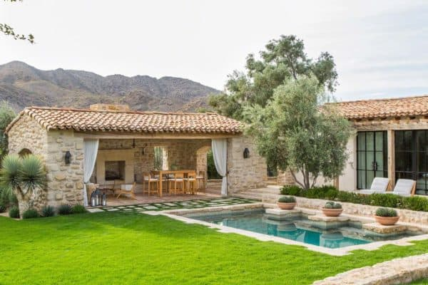 featured posts image for Beautiful Mediterranean style dream house in Paradise Valley, Arizona