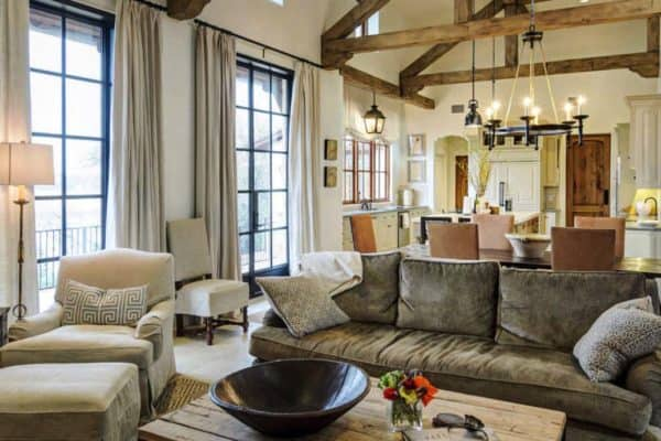 featured posts image for Mediterranean style home with rustic yet elegant interiors on Lake Travis
