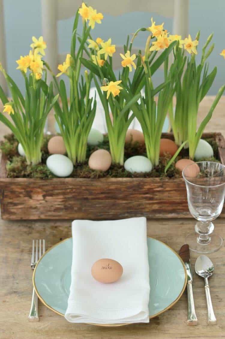 Inspiring Easter Table Centerpiece Ideas-10-1 Kindesign