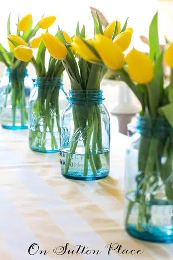 Inspiring Easter Table Centerpiece Ideas-02-1 Kindesign