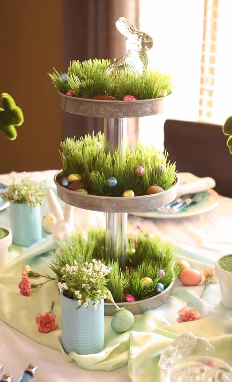 Inspiring Easter Table Centerpiece Ideas-04-1 Kindesign