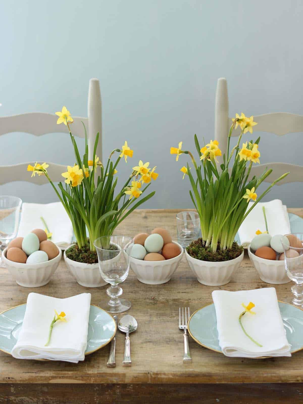 Inspiring Easter Table Centerpiece Ideas-11-1 Kindesign