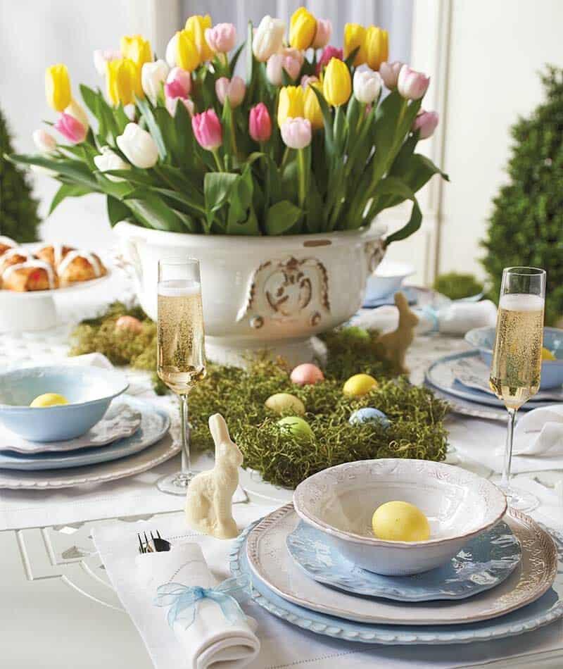 Inspiring Easter Table Centerpiece Ideas-14-1 Kindesign