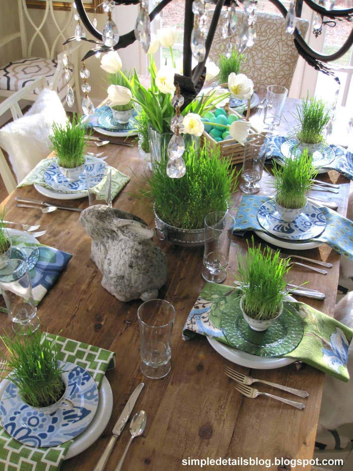Inspiring Easter Table Centerpiece Ideas-16-1 Kindesign