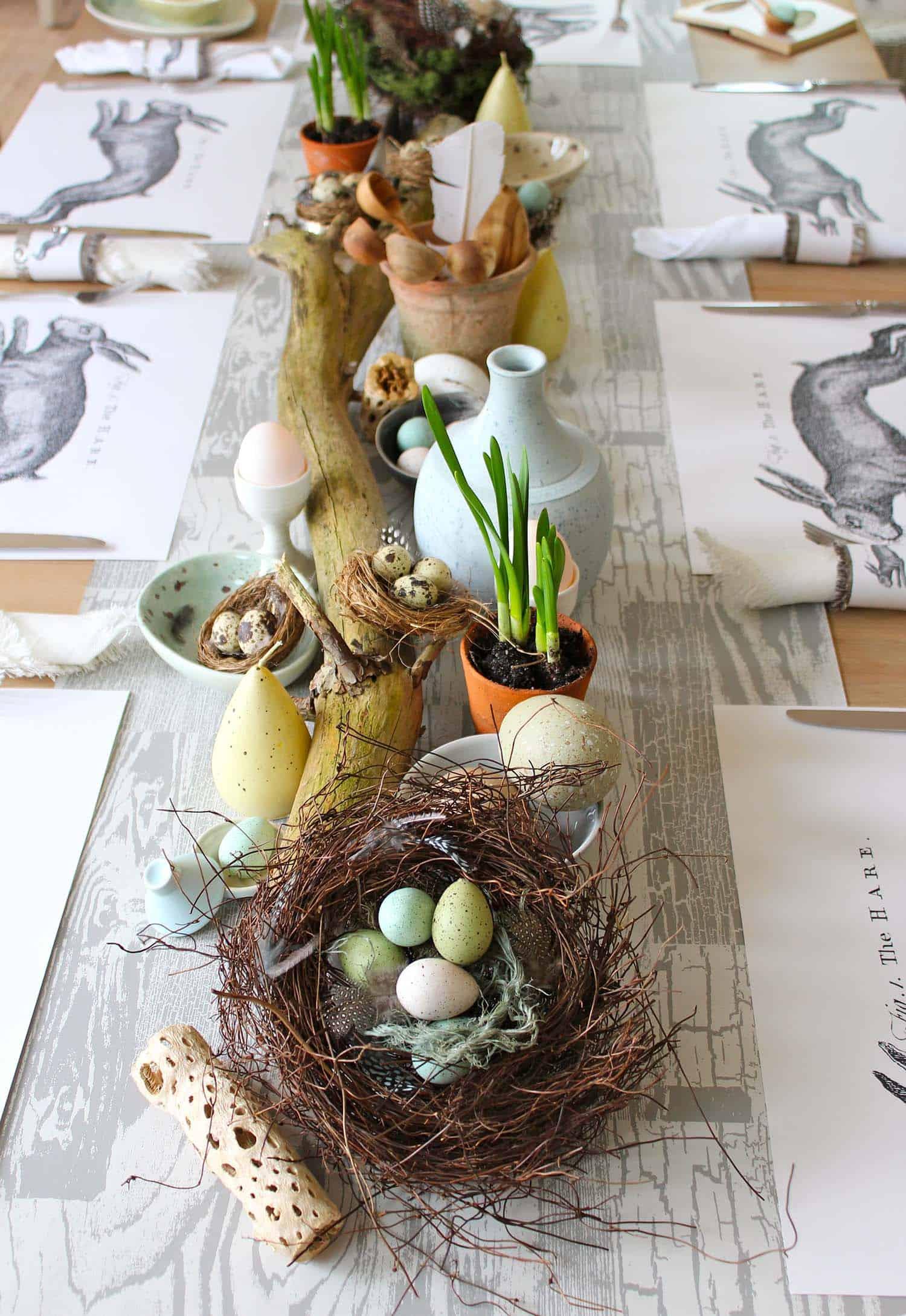 Inspiring Easter Table Centerpiece Ideas-19-1 Kindesign